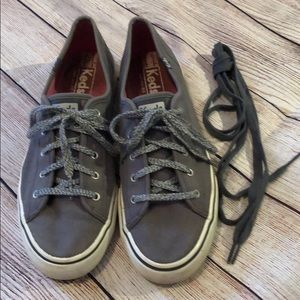 Keds gray tennis shoes